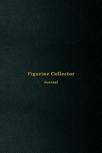 Figurine Collector Journal: Inventory ledger notebook and journal for vintage, ceramic, porcelain figures or minature statues