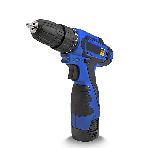 XINXI-MAO Home Hand Tools Multi-Function Electric Screwdriver, Lithium Rechargeable Handheld Drill Household Hand Tool Robust Tool