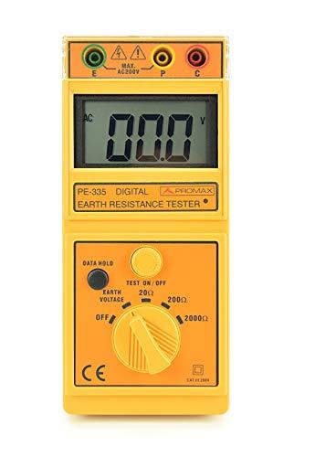 Promax Medidor Digital de Resistencia de Tierra PE-335