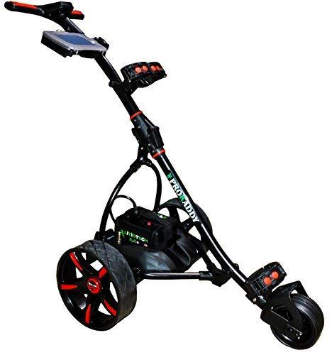 Carro eléctrico de Golf Pro Kaddy Modelo S1T2NL Negro con batería Litio