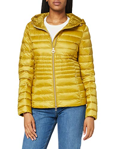 Geox D Jaysen B Chaqueta Acolchada, Color Amarillo, 40 para Mujer