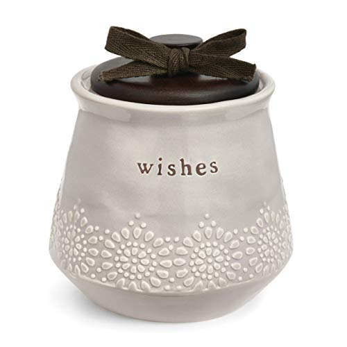 Everyday Wishes Wish Jar Unique And Thoughtful Gift Ideas For Friends And Family Novelty Gift For Birthdays Christmas Or Any Special Occasion Kit Comes With 100 Tickets Decorative