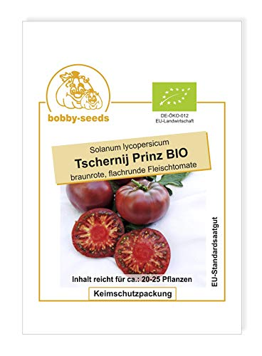 Tschernij Prinz BIO-Tomatensamen von Bobby-Seeds Portion