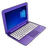 HP Stream 11-r015wm Laptop Intel Celeron N3050 1.6GHz 2GB 32GB 11.6in - Purple - Refurbished