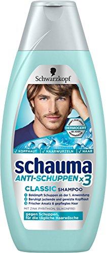 Schwarzkopf Schauma Anti-Schuppen Classic Shampoo, 4er Pack (4 x 400 ml)