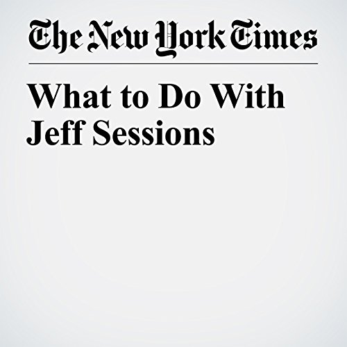 What to Do With Jeff Sessions audiobook cover art