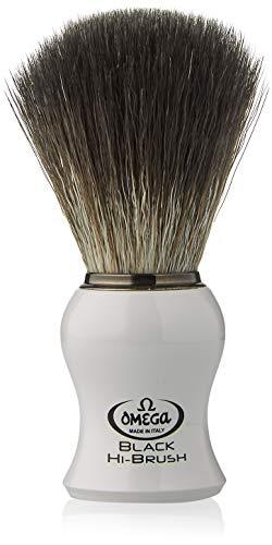 Omega 0196745 - Pincel de barba de fibra