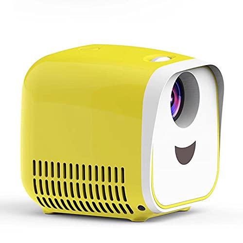 Mini Projetor Full HD 1080P 80 polegadas Display Adequado para Home Office Lecture School Portable Filme projetor com 30.000 horas de lâmpada LED e compatível com PS4 HDMI Avetc.460g12 * 10 * 11cm