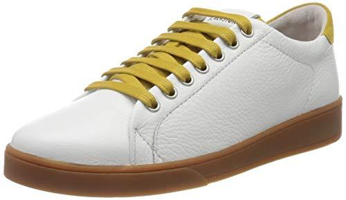Blackstone Womens RL84 Sneaker, Oily Yellow