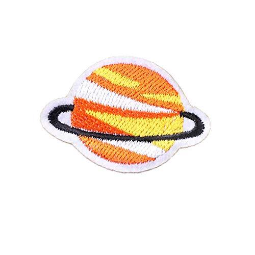 Dylandy 10 pegatinas de tela para planchar, parches para planchar, acolchados, chaquetas y sombrero, camiseta bordada, apliques de agujeros para niños, adultos, parches de reparación de tela