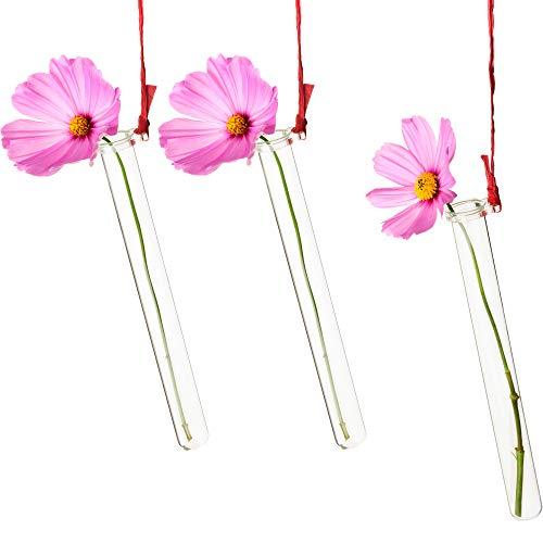 Tuuters 25x Reagenzglashalter für Blumen mit Reagenzglas ☆ Blumenvase ☆ Vase Hochzeit ☆ Hochzeitsdeko