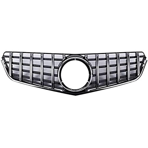 XDHN ABS Parachoques de Rejilla de radiador Delantero de Coche Decorativo, para Mercedes Benz Clase E W207 C207 E200 E250 E350 E550 2010-2013 Rejillas de radiador de Parachoques Delantero, Accesorios
