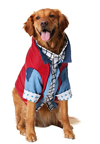 Marty McFly Dog Costume Back to The Future in 4 Sizes. Let your pet pooch in on the fun!