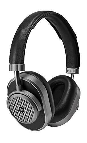 Master & Dynamic MW65 Active Noise-Cancelling (Anc) Wireless Headphones – Bluetooth Over-Ear...