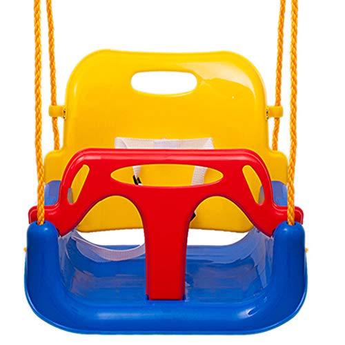 3-in-1 Peuter Schommelzitje Zuigelingen Voor Tieners, Fitnessspeelgoed Voor Kinderen Swing Basket Anti-flip Large Space Swing Combination