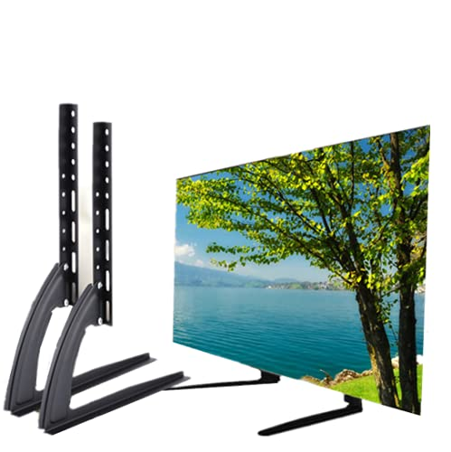 Patas universales para TV, Soporte Universal para TV de sobremesa, Soporte para TV, Soporte de Acero para TV, Soporte para TV, Soporte para TV, Pedestal para Fijar firmemente el Monitor de Pantalla