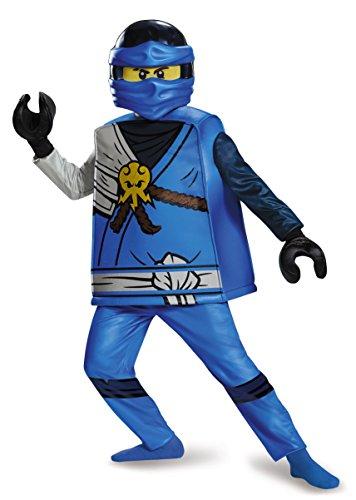Disguise Jay Deluxe Ninjago Lego Costume, Small/4-6