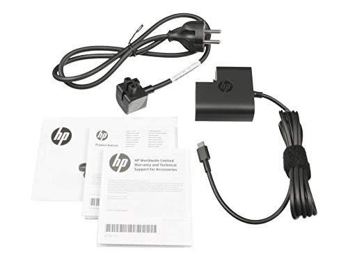 HP Cargador USB-C 45 vatios Original para la série Elite x2 1012 G1