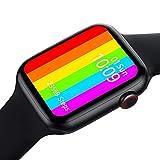 [Orologio intelligente multi funzione Android]: può calcolare i passi, il consumo di calorie, ricordare la postura seduta, il monitoraggio del sonno, la presa di foto di Bluetooth, la musica, l'orologio dell'allarme, alla ricerca di telefono cellula...