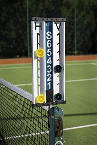 Tabellone segnapunti e Scorekeeper di tennis di Sho-Court (1-6 giochi)