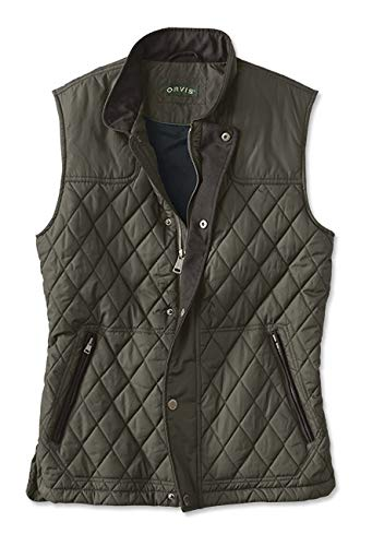 Orvis Men's RT7 Quilted Vest Olive