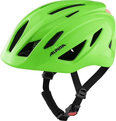 Alpina Unisex Jugend PICO Flash Fahrradhelm, neon Green Gloss, 50-55 cm