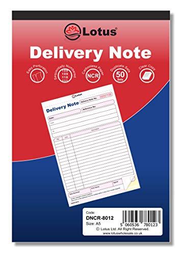 Lotus Fattura/Ricezione/Ordini, duplicato (2 parti)/triplicato (3 parti) - Gamma completa Duplicate | Delivery Note-DNCR-8012