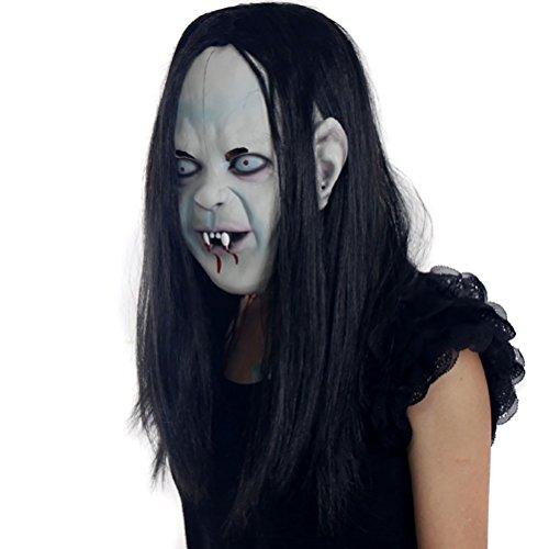 LUOEM Mscara de Fantasmas Disfraces de Halloween Cosplay Mscara Horrible Mscara de Fantasmas Espeluznante aterradora Zombie