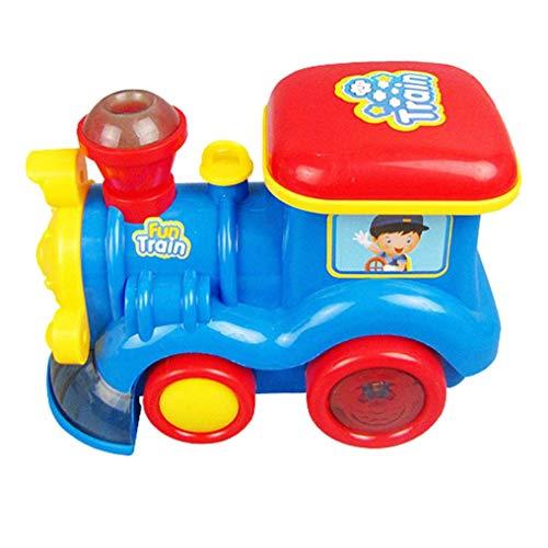 ACAMPTAR Go Steam Train Locomotive para Kids - Coche CláSico de Juguete con Motor de BateríA con Humo, Luces y Sonido ( de Agua Realista)