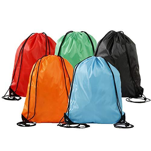 Lsydgn Porta zapatos con cordón Bolsas estancas con cordón fácil de limpiar y apto para deportes al aire libre, camping y viajes, estuche portátil e impermeable (cinco colores)