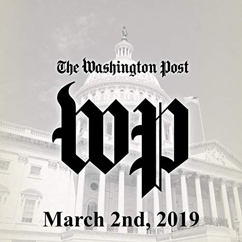 March 2, 2019                   著者:                                                                                                                                 The Washington Post                               ナレーター:                                                                                                                                 Jenny Hoops                      再生時間: 1 時間  5 分     レビューはまだありません。     総合評価 0.0