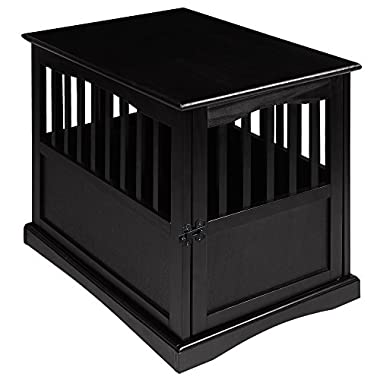 Casual Home 600-42 Pet Crate, Black, 24 Inch