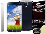 Techgear - Protector de pantalla LCD para Samsung Galaxy S4 Mini i9190/i9195 (3 unidades, antirreflejante), acabado mate