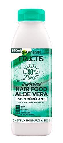 Garnier Fructis Hair Food Démêlant Hydratant à l'Aloe Vera pour Cheveux Secs 350 ml C6345400