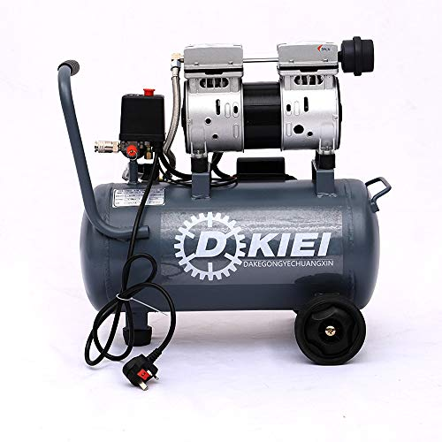 Low Noise Silent Air Compressor 25 Litre 8CFM 2.5HP Oil Free