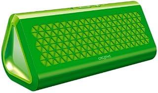 Creative Airwave Portable Wireless Bluetooth Speaker with NFC (Green)