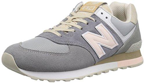 New Balance Men's 574S Sport Sneaker,gunmetal/steel,12 D US