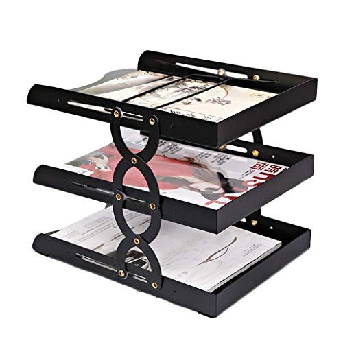 Olare Del File, rack file/basagram voor kruiwagen/metaal/meerlaags, uittrekbaar, draagbaar, anti-val/scheurvast, desktop/kantoor