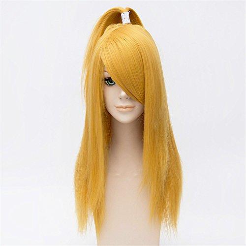 LanTing Cosplay Perücke Naruto Deidara Gold Lange Perücke Styled Frauen Cosplay Party Fashion Anime Human Costume Full wigs Synthetic Haar Heat Resistant Fiber