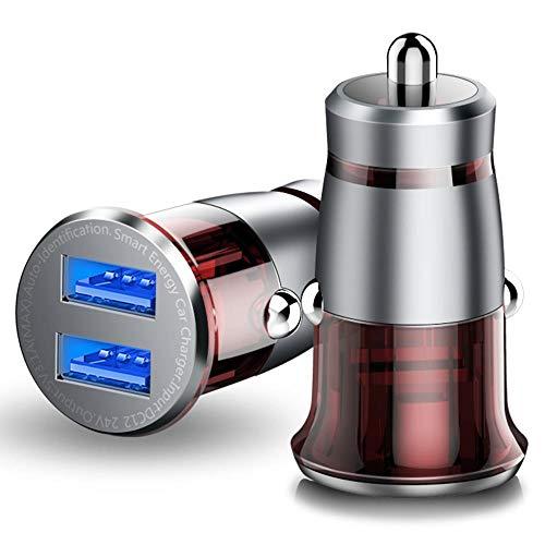 YONGYAO Cafele Cargador Rápido Inteligente Multifunción Coche Cargador Universal para Teléfono Móvil Coche - Gris