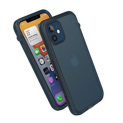 Catalyst Influence Series Funda diseñada para iPhone 12/12 Pro, interruptor de silencio rotado patentado, a prueba de caídas de 15 pies, sistema de fijación Crux Accessories Tactical Blue