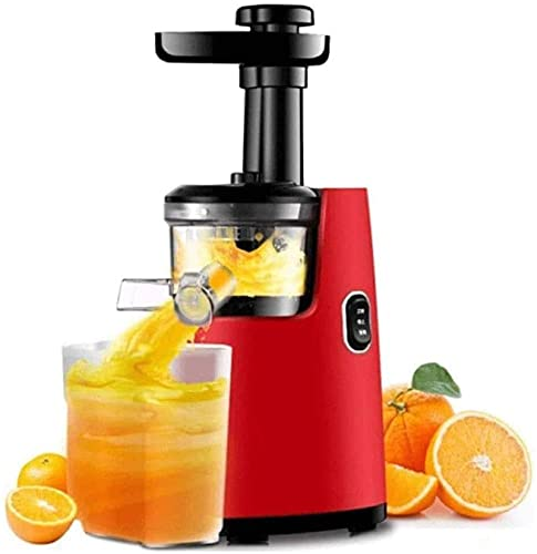 Slow Juicer, Juicer Machines Centrifugal Juice Extractor for Whole Fruit and Vegetables, BPA-Free, Detachable Stainless Steel Citrus Juicer,Red (Multifunctional juicer) ,Juicer Machines Vegetable and