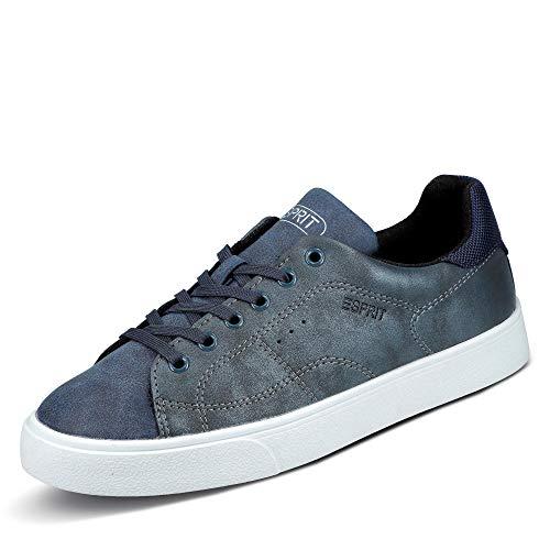ESPRIT Damen Cherry LU Sneaker, Blau (Navy 400), 38 EU
