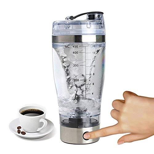 biggroup Cable USB recargable auto-agitación taza para café, batidora eléctrica de proteína batidora automática taza...