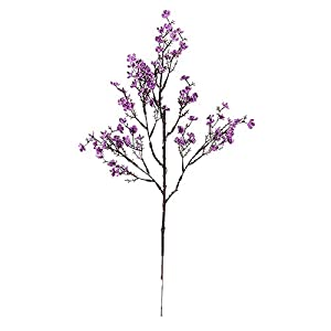 Gypsophila Simulation Fake Faux Plant Artificial Flower Ornament Wedding for Home Decoration Purple