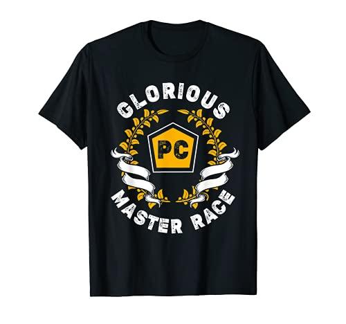 Glorious PC Master Race PC Gamer PC Gaming E-Sports T-Shirt