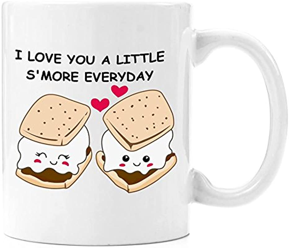 Love You A Little S More Coffee Mug 11 Oz Anniversary Gifts For Her Wedding Anniversary Gifts For Her Birthday Gifts For Her Perfect Gift For Her Romantic Gift For Her Cute Present For Him