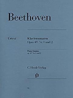 2 Easy Piano Sonatas g minor and G major op. 49/1 u. 2 - piano - (HN 56)