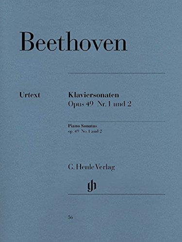 2 Leichte Klaviersonaten g-moll op. 49 Nr. 1 und G-dur op. 49 Nr. 2