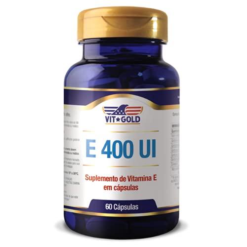 Vitamina E 400 UI Vitgold 60 cápsulas